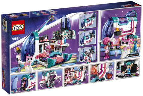 LEGO 70828 LEGO Movie 2 – Il party bus Pop-Up