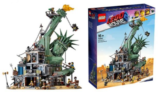 LEGO 70840 Benvenuto ad Apocalisseburg! (LEGO Movie 2)