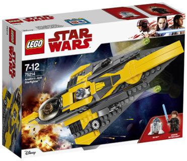 LEGO 75214 Star Wars – Jedi Starfighter di Anakin