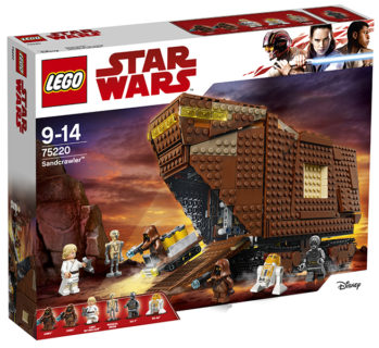 LEGO 75220 Star Wars – Sandcrawler