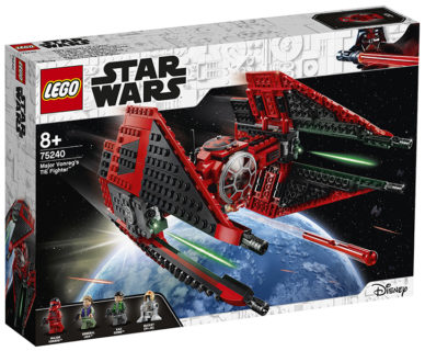 LEGO 75240 Star Wars – TIE Fighter del Maggiore Vonreg