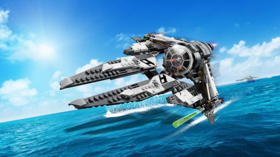 LEGO 75242 Star Wars – TIE Interceptor Black Ace
