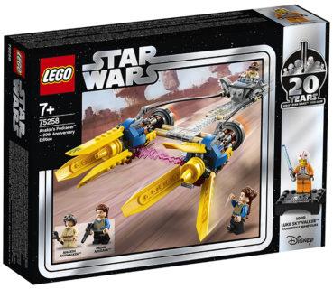 LEGO 75258 Star Wars – Sguscio di Anakin Edizione 20° Anniversario