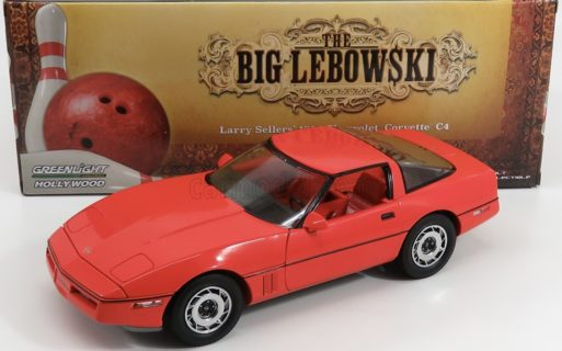 GREENLIGHT – CHEVROLET – CORVETTE C4 THE BIG LEBOWSKI 1985