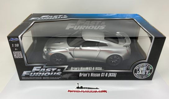 JADA – NISSAN – BRIAN'S GT-R R35 2007 – FAST & FURIOUS VI (2012)