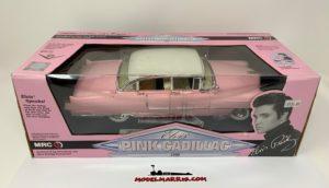 MRC – CADILLAC – PINK ELDORADO 1955 – PERSONAL CAR ELVIS PRESLEY – (CON PULSANTE PER ASCOLTARE LA VOCE DI ELVIS)
