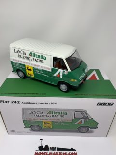 LAUDORACING – FIAT – 242 VAN ALITALIA – ASSISTENZA LANCIA CORSE WORLD RALLY CHAMPION 1977 pz 150