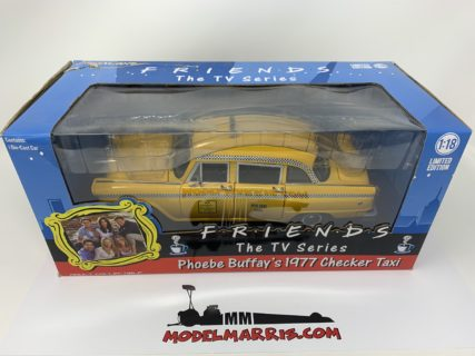 GREENLIGHT – CHECKER – SPECIAL A11 N.Y.C. TAXI – FRIENDS TV SERIES – PHOEBE BUFFAY'S 1977
