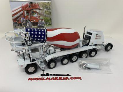 "TWH – SWORD – Oshkosh S-Series Cement Mixer – ""BUILDING AMERICA"" – 1/50 – Limited"