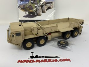 TWH / SWORD 1/50 CAMION MILITARE OSHKOSH HEMTT M985 A2 CARGO 8X8 camouflage Sand limited