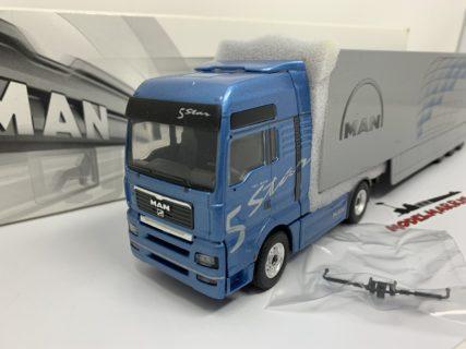 Conrad 66158 Man Tga Xxl Tractor Trailer 1/50 con semirimorchio