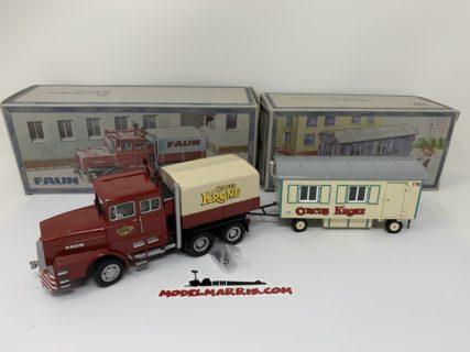 Nzg 543/01 – Faun – Circus  Krone + trailer * Limited *