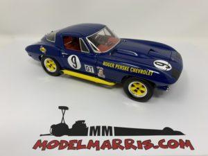 Exoto 1967 Sunoco Corvette Coupe Sebring 12 hrs #9 Wintersteen/Moore