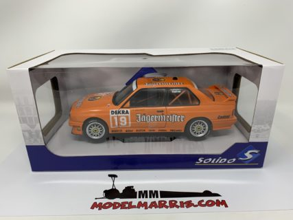 SOLIDO – BMW – 3-SERIES M3 (E30) TEAM JAGERMEISTER LINDER N 19 SEASON DTM 1992 ARMIN HAHNE