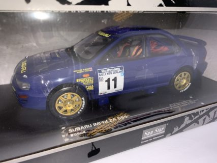 SUN-STAR – SUBARU – IMPREZA 555 N 11 RALLY NEW ZEALAND 1994 R.BURNS – R.REID