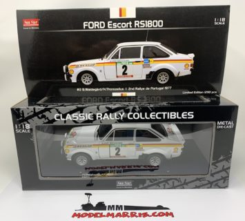 SUN-STAR – FORD ENGLAND – ESCORT RS1800 N 2 2nd RALLY PORTUGAL 1977 B.WALDEGAARD – H.THORSZELIUS