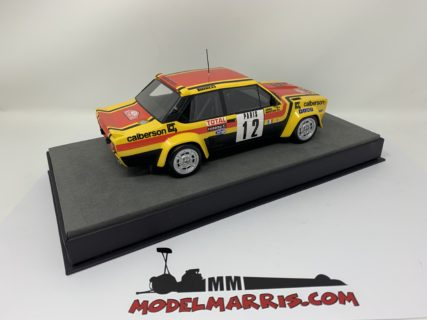 TOPMARQUES – FIAT – 131 ABARTH N 12 RALLY MONTECARLO 1980 M. MOUTON A. ARRII