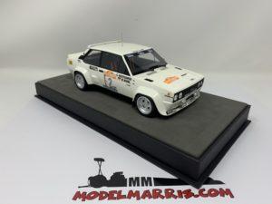 TOPMARQUES – FIAT – 131 ABARTH N 2 WINNER RALLY SANREMO 1980 W.ROHRL – C.GEISTDORFER