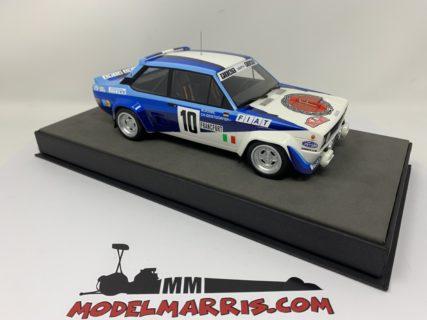 TOPMARQUES – FIAT – 131 ABARTH N 10 WINNER RALLY MONTECARLO 1980 W.ROHRL – CH.GEISTDORFER
