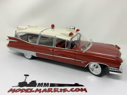 GREENLIGHT – CADILLAC – SUPERIOR AMBULANCE 1959 – CON BARELLA – WITH STRETCHER