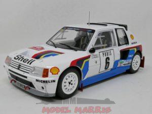 IXO-MODELS – PEUGEOT – 205 T16 N 6 3rd RALLY MONTECARLO 1985 T.SALONEN – S.MARJANNE