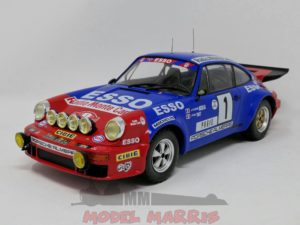 IXO-MODELS – PORSCHE – 911 CARRERA RS TEAM ESSO (night version) N 1 RALLY MONTECARLO 1979 J.P.NICOLAS – J.TODT