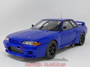 AUTOART – NISSAN – SKYLINE GT-R (R32) N 0 AUSTRALIAN BATHURST RACE PLAIN COLOUR VERSION 1992