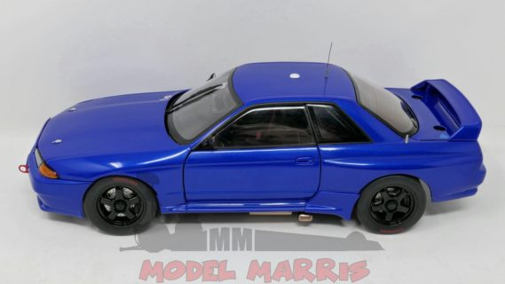 AUTOART – NISSAN – SKYLINE GT-R (R32) N 0 AUSTRALIAN BATHURST RACE PLAIN COLOUR VERSION 1992