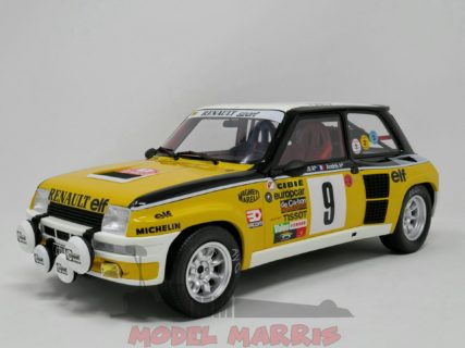 OTTO-MOBILE – RENAULT – R5 TURBO N 9 WINNER RALLY MONTECARLO 1981 J.RAGNOTTI – J.M.ANDRIE