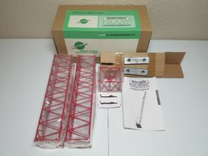 Manitowoc 4100W Crane Boom Extension Kit #22 Red by TWH 1:50 Model #049A