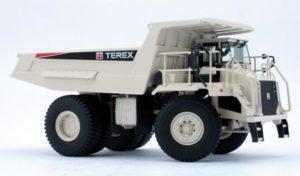 TEREX TR60 Rigid frame off highway dump truck – NZG – 771 – 11771 – 1:50