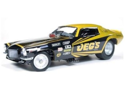 AUTOWORLD – CHEVROLET – CHEVY CAMARO N 380 FUNNY CAR DRAGSTER 1970 JEG COUGHLIN