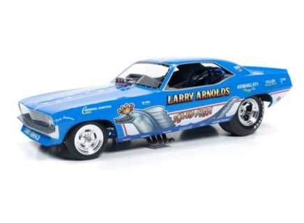 AUTOWORLD – 1970 Plymouth Cuda – Funny Car – *Larry Arnolds King Fish*, blue/white