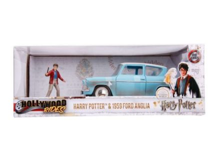 JADA – FORD ENGLAND – ANGLIA 1959 HARRY POTTER – MOVIE – WITH FIGURE 2016