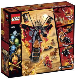 LEGO 70674 Ninjago – Zanna di Fuoco