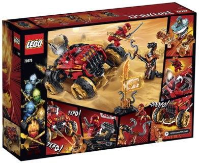 LEGO 70675 Ninjago – Katana 4×4