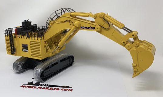 KOMATSU NZG  Escavatore rovescio PC4000 1/50