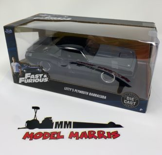 JADA – PLYMOUTH – LETTY'S BARRACUDA 440 COUPE 1969 – FAST & FURIOUS 7 – 2015