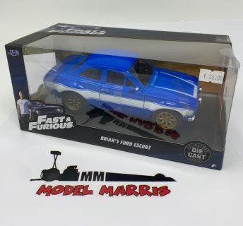 Brian's Ford Escort RS2000 MK1 *Fast & Furious*, blue/white
