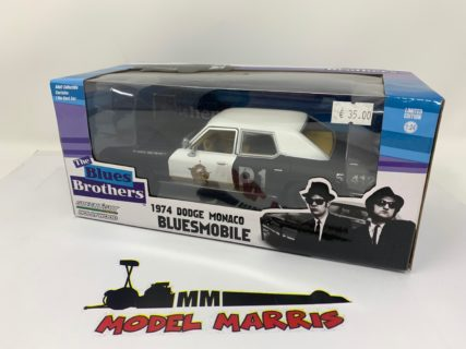 GREENLIGHT – DODGE – MONACO BLUESMOBILE 1974 – THE BLUES BROTHERS