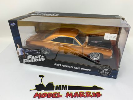 JADA – PLYMOUTH – DOM'S CHARGER ROAD RUNNER 1970 – FAST & FURIOUS VII