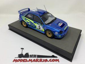 TOPMARQUES – SUBARU – IMPREZA WRC N 5 RALLY WINNER NEW ZEALAND 2001 R.BURNS – R.REID