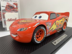 Saetta MC QUEEN DISNEY CARS SHUCO 1:18