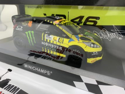 MINICHAMPS – FORD ENGLAND – FIESTA RS WRC MONSTER N 46 RALLY MONZA 2013 VALENTINO ROSSI – C.CASSINA