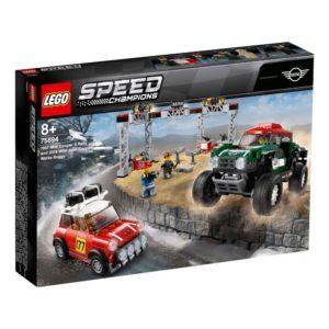 LEGO 75894 Speed Champions – 1967 Mini Cooper S Rally e 2018 MINI John Cooper Works Buggy