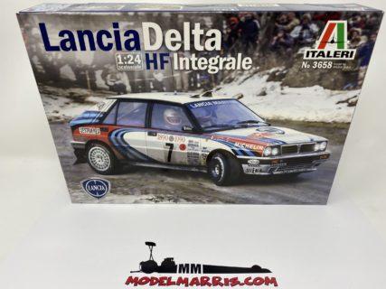 ITALERI – LANCIA – DELTA HF INTEGRALE MARTINI 16V N 1 RALLY MONTECARLO 1990 M.BIASION – T.SIVIERO + DELTA HF INTEGRALE 16V MARTINI N 7 WINNER RALLY MONTECARLO 1990 D.AURIOL – B.OCCELLI