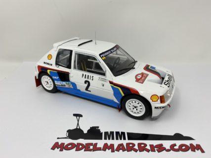 IXO-MODELS – PEUGEOT – 205 TURBO T16 N 2 WINNER RALLY MONTECARLO 1985 A.VATANEN – T.HARRYMAN