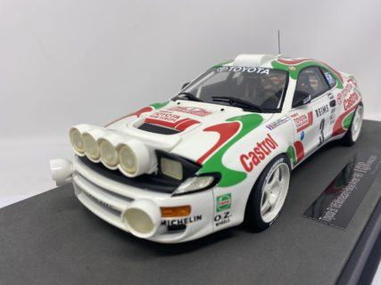 TOPMARQUES – TOYOTA – CELICA GT4 TURBO 4WD ST185 (night version) TEAM CASTROL N 3 WINNER RALLY MONTECARLO 1993 D.AURIOL – B.OCCELLI