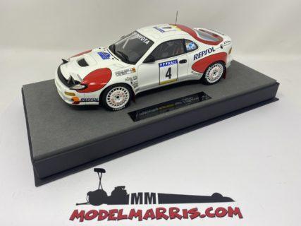 TOPMARQUES – TOYOTA – CELICA GT4 (ST185) N 4 WINNER RALLY CATALUNIA SPAIN 1992 CARLOS SAINZ – LUIS MOYA