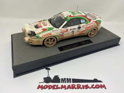 TOPMARQUES – TOYOTA – CELICA GT4 TURBO 4WD ST185 (night version) TEAM CASTROL N 3 WINNER RALLY MONTECARLO 1993 D.AURIOL – B.OCCELLI – DIRTY VERSION